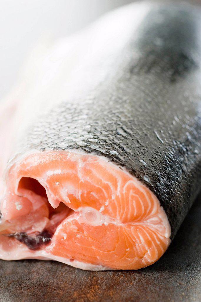 Stock Photo: 1569R-9073165 Fresh salmon
