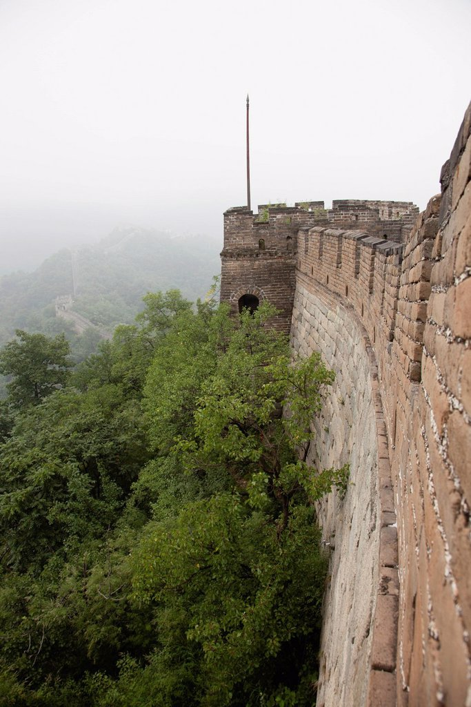 Stock Photo: 1569R-9074212 China, Great Wall of China