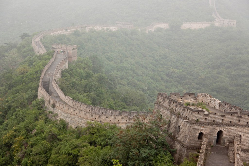 Stock Photo: 1569R-9074456 China, Great Wall of China