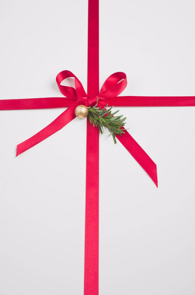 Stock Photo: 1569R-9074829 Christmas gift, full frame
