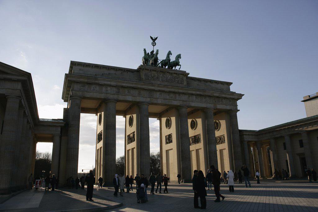 Brandenburg Gate, Berlin, Germany : Stock Photo