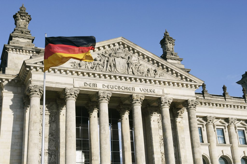 Stock Photo: 1570R-01074 Reichstag, Berlin, Germany