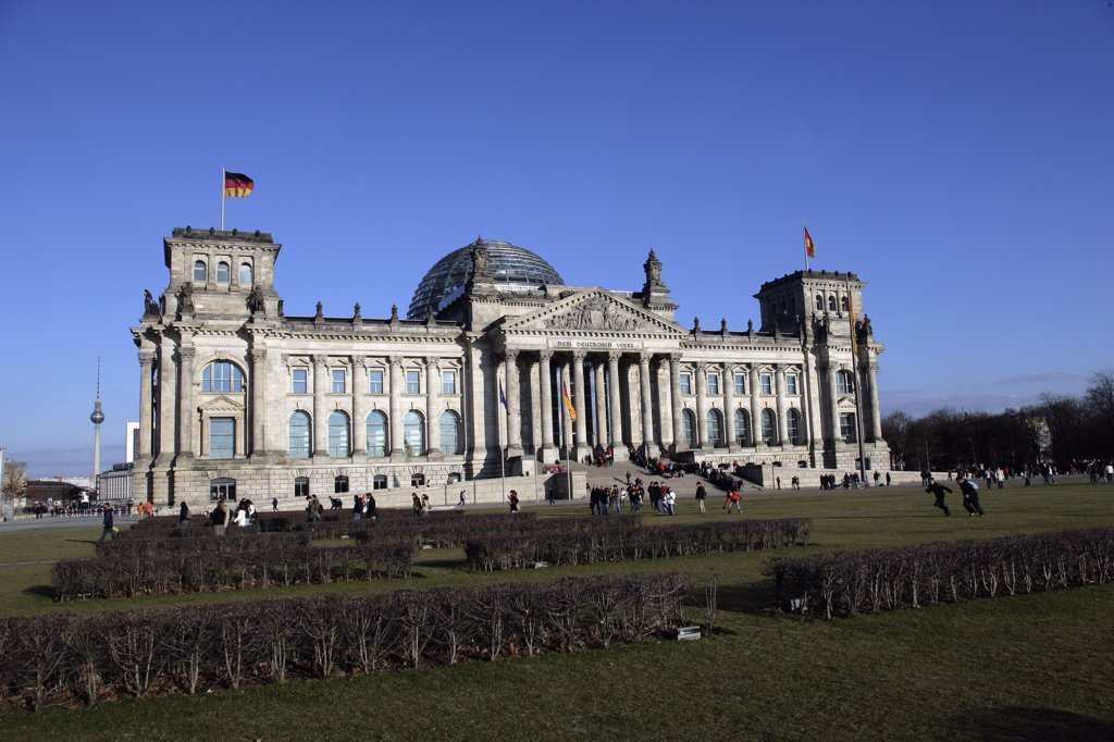 Stock Photo: 1570R-01075 Reichstag, Berlin, Germany