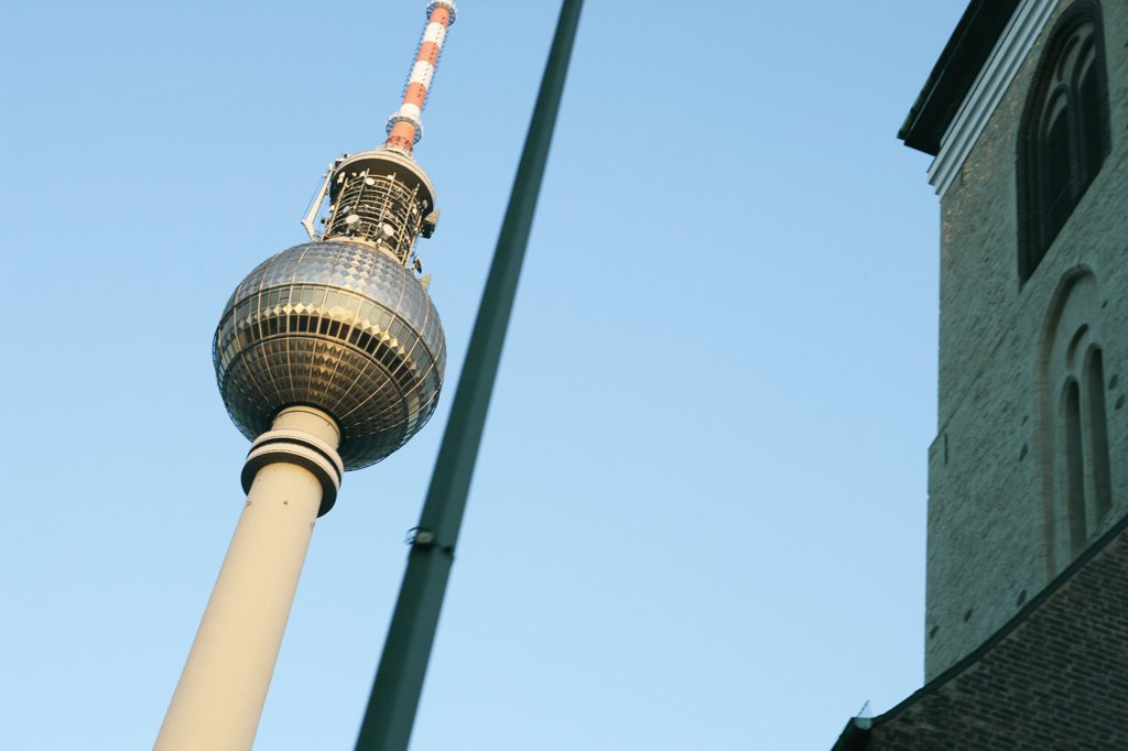 Television tower, Berlin, Germany : Stock Photo