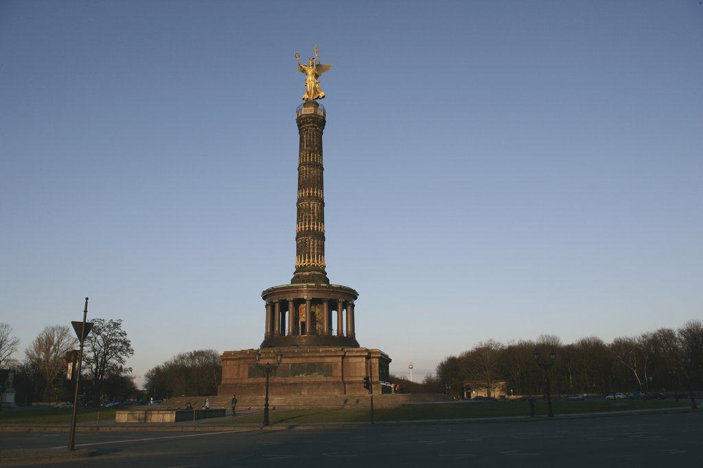 Victory Column, Berlin, Germany : Stock Photo