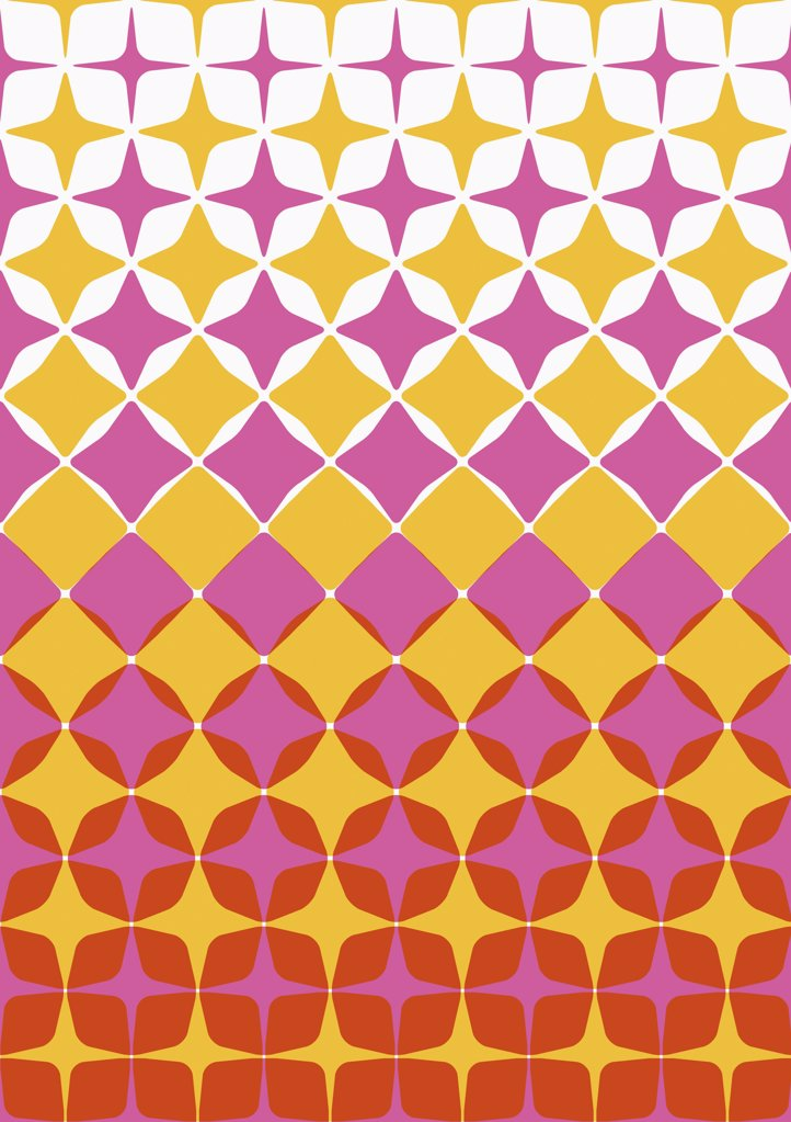 Stock Photo: 1570R-10036 illustrated abstract pattern