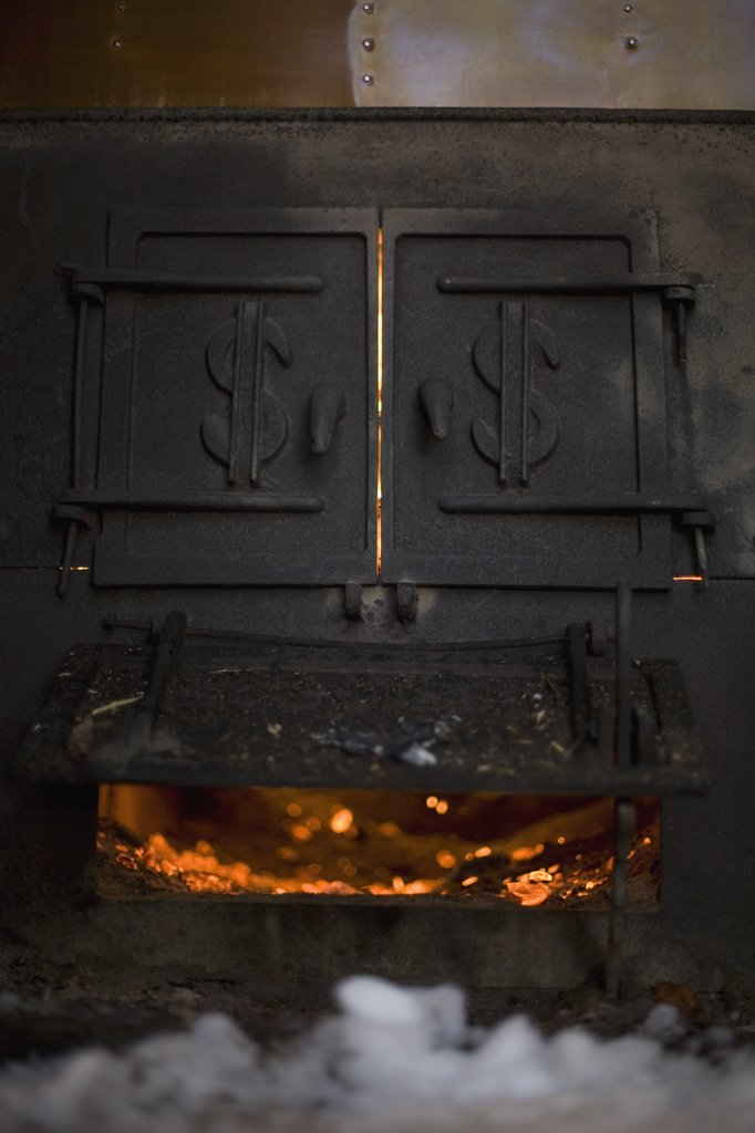 Stock Photo: 1570R-116432 Furnace
