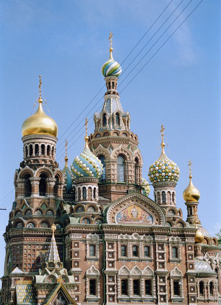 Stock Photo: 1570R-116720 Church of the Saviour on Spilled Blood, St. Petersburg, Russia