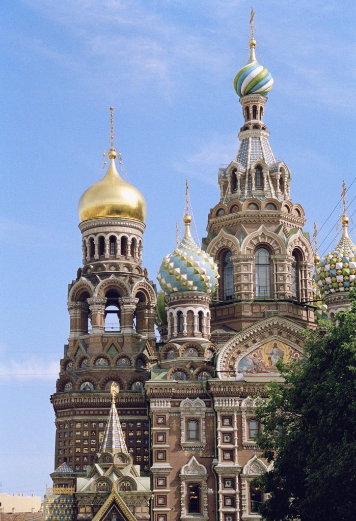 Church of the Saviour on Spilled Blood, St. Petersburg, Russia : Stock Photo