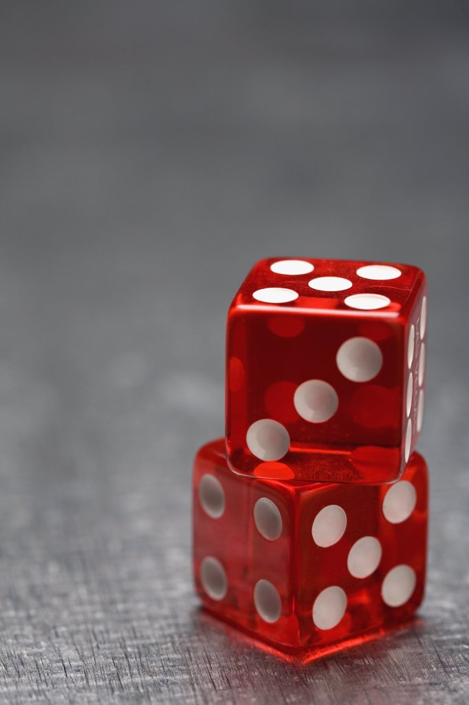 Two dice : Stock Photo