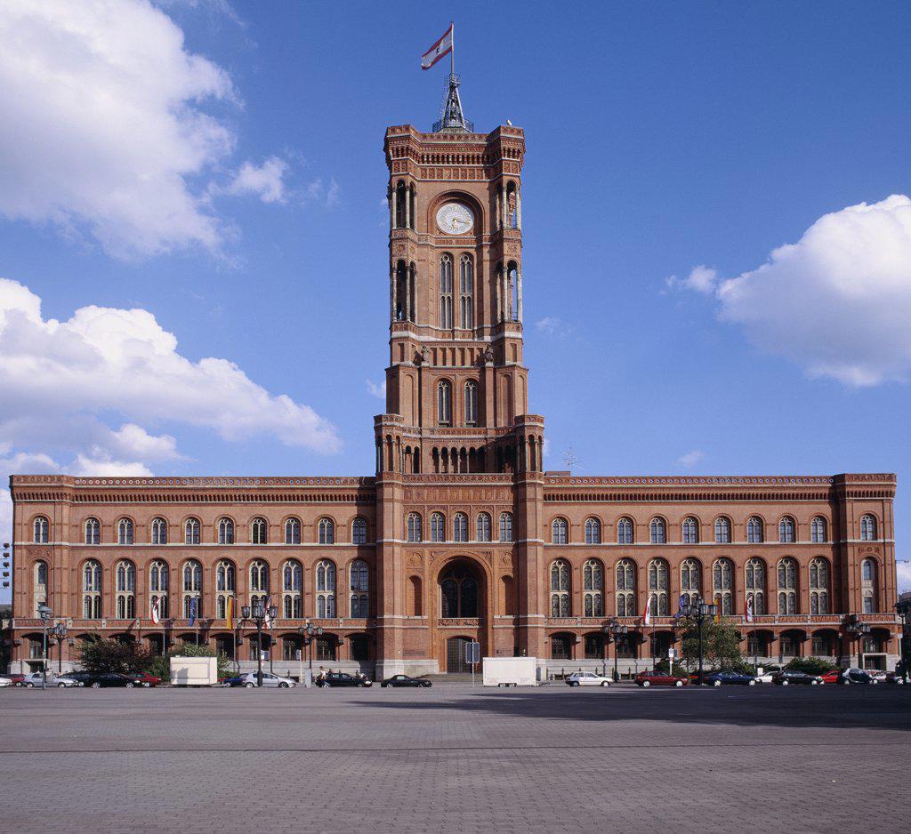 Stock Photo: 1570R-119502 City Hall, Berlin, Germany