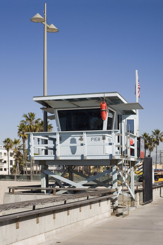 Stock Photo: 1570R-120144 Lifeguard cabin