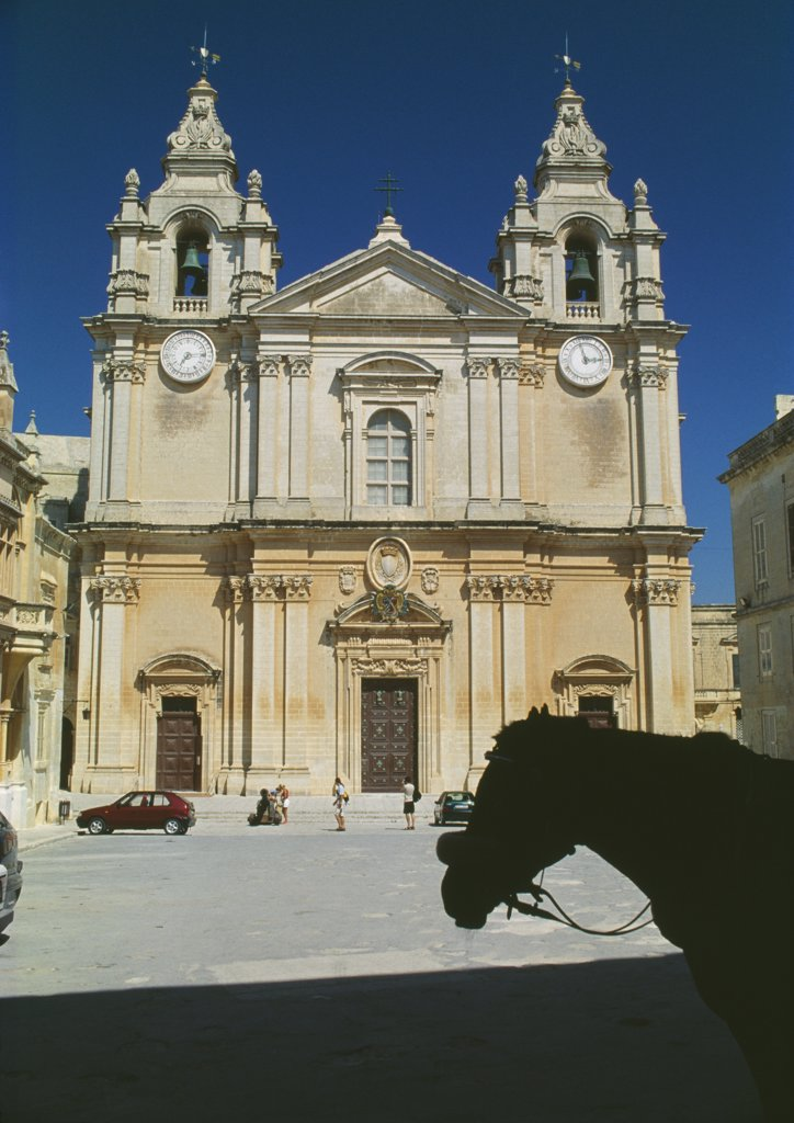 Ta Pinu Basilica, Gozo, Malta : Stock Photo