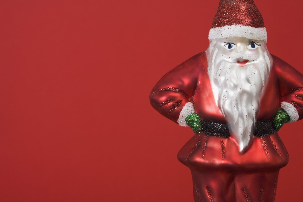 Santa Claus figurine : Stock Photo