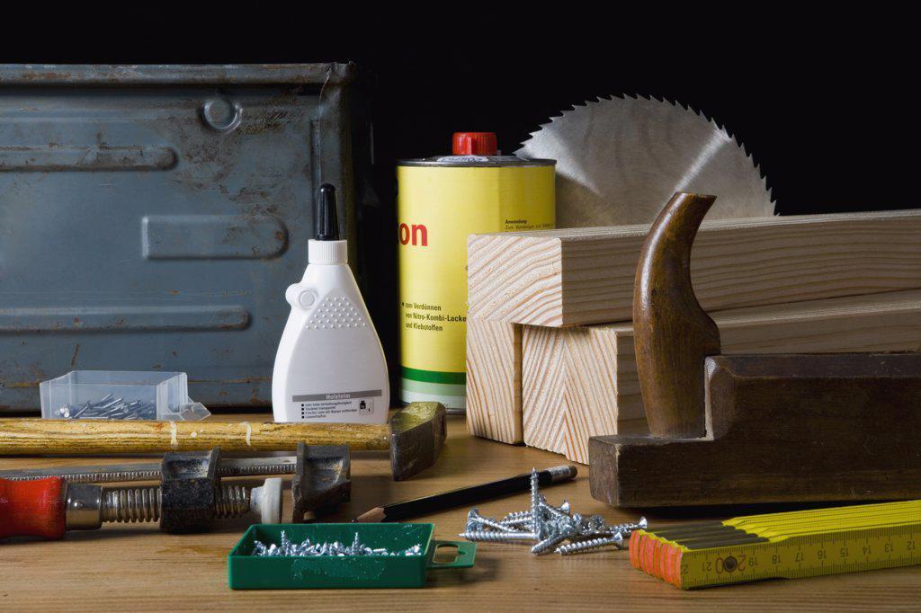 Stock Photo: 1570R-123594 Carpentry equipment