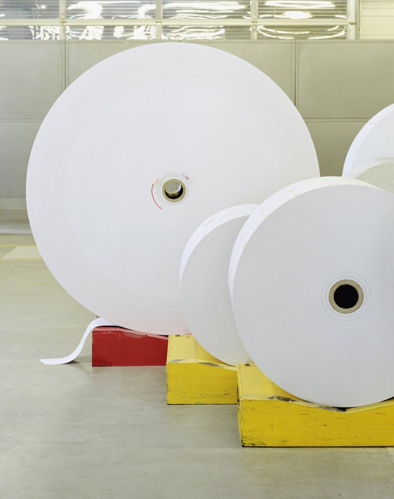 Stock Photo: 1570R-123670 Rolled up paper