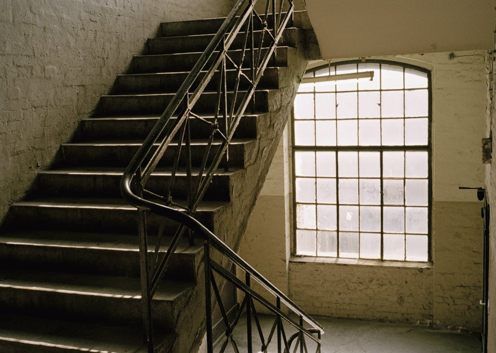 Stock Photo: 1570R-125287 A stairwell