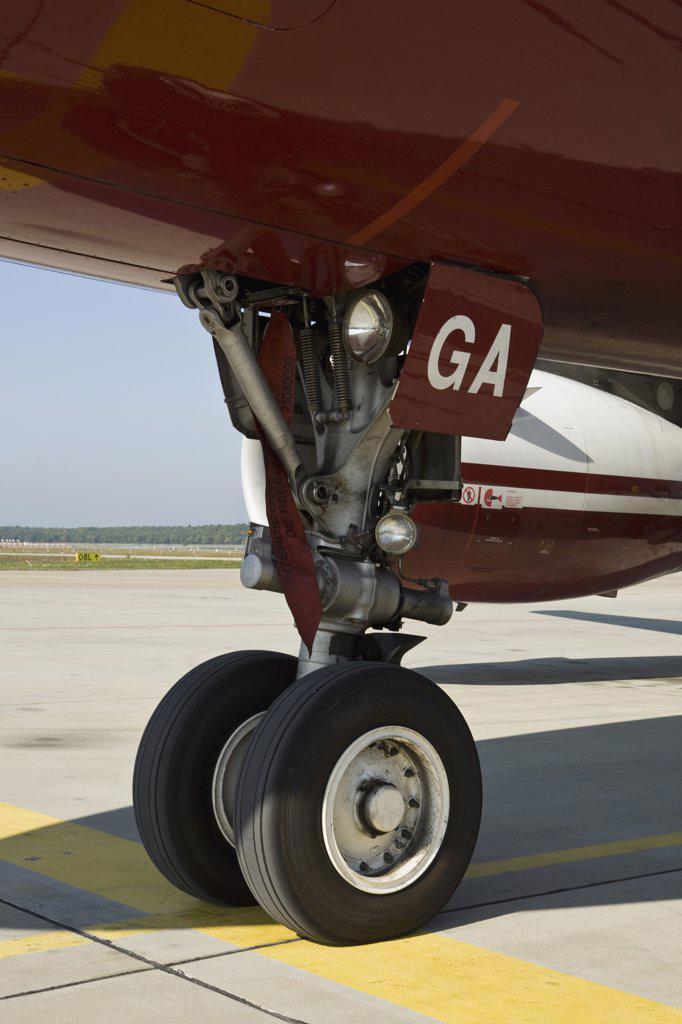 Stock Photo: 1570R-125864 Airplane wheels