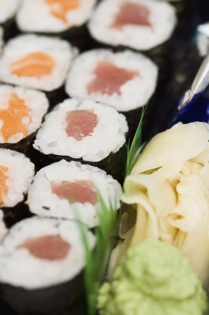 Close up of sushi : Stock Photo