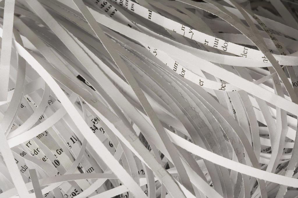 Shredded paper : Stock Photo