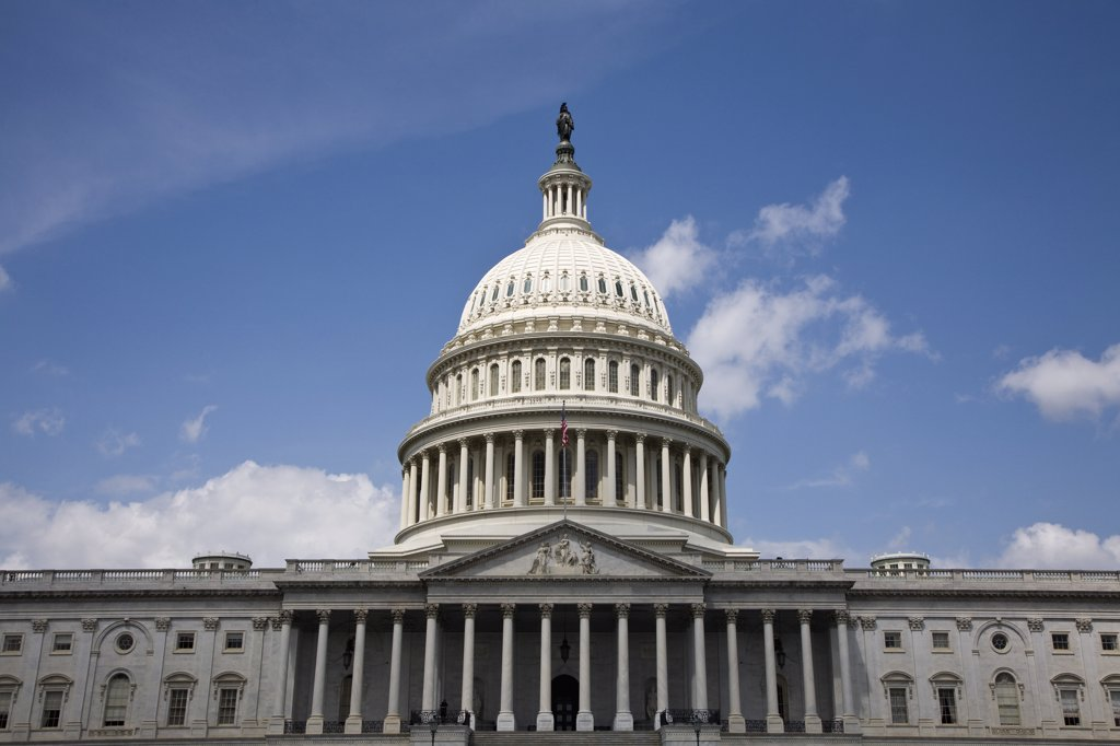 United States Capitol Building, Washington DC, USA : Stock Photo