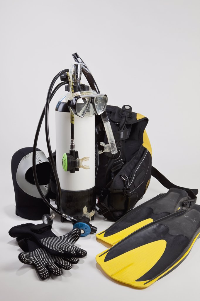 Stock Photo: 1570R-132740 Diving equipment
