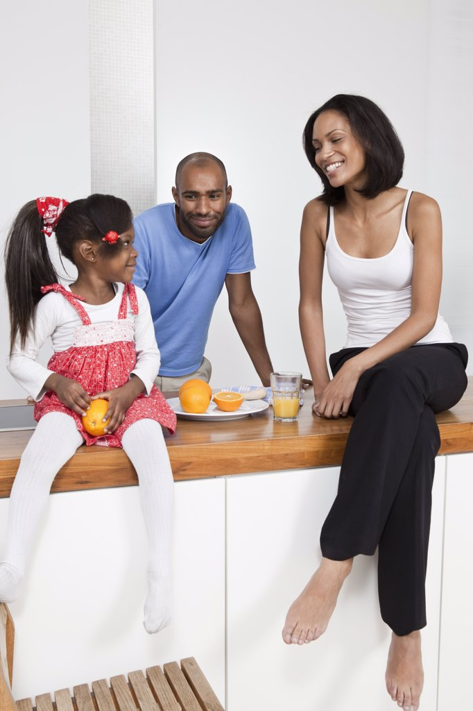 Stock Photo: 1570R-133293 A young family relaxing