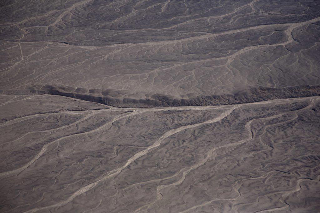 Barren landscape in the Atacama Desert, Chile : Stock Photo