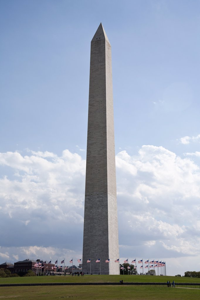 The Washington Memorial, Washington DC, USA : Stock Photo