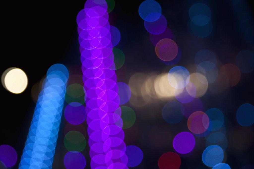 Stock Photo: 1570R-135777 Abstract light pattern