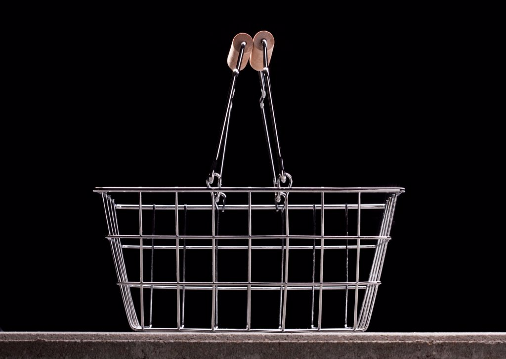 Stock Photo: 1570R-140938 Empty shopping basket