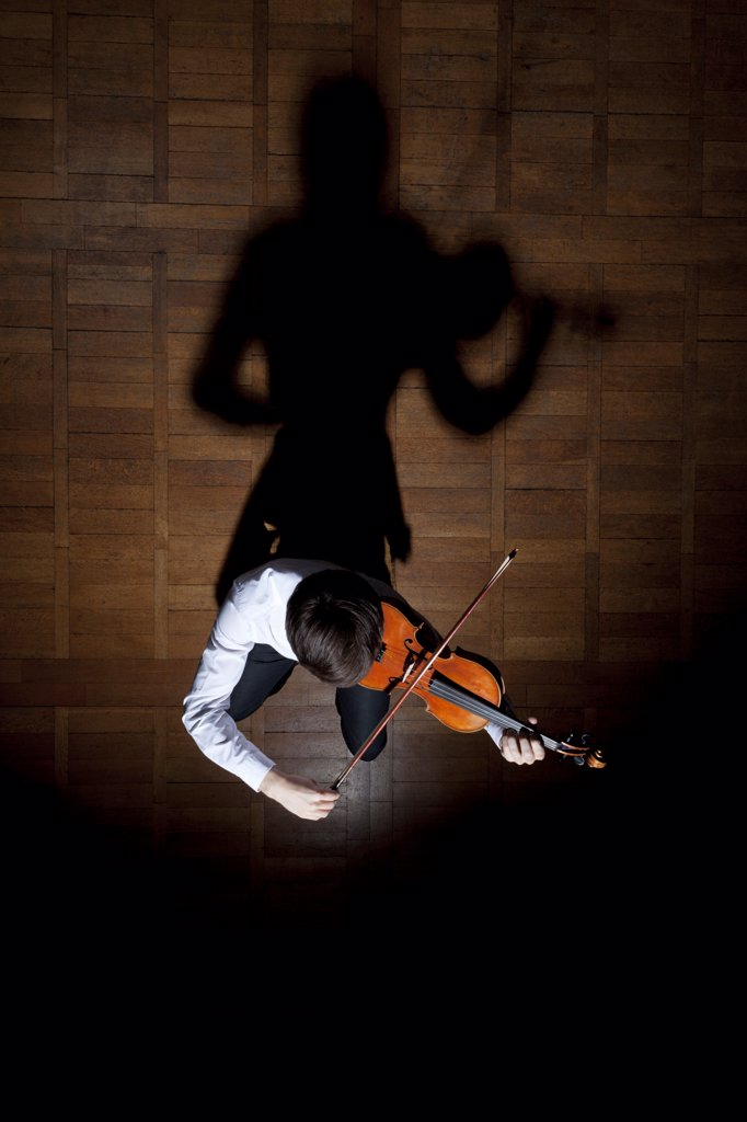 Violin performance : Stock Photo