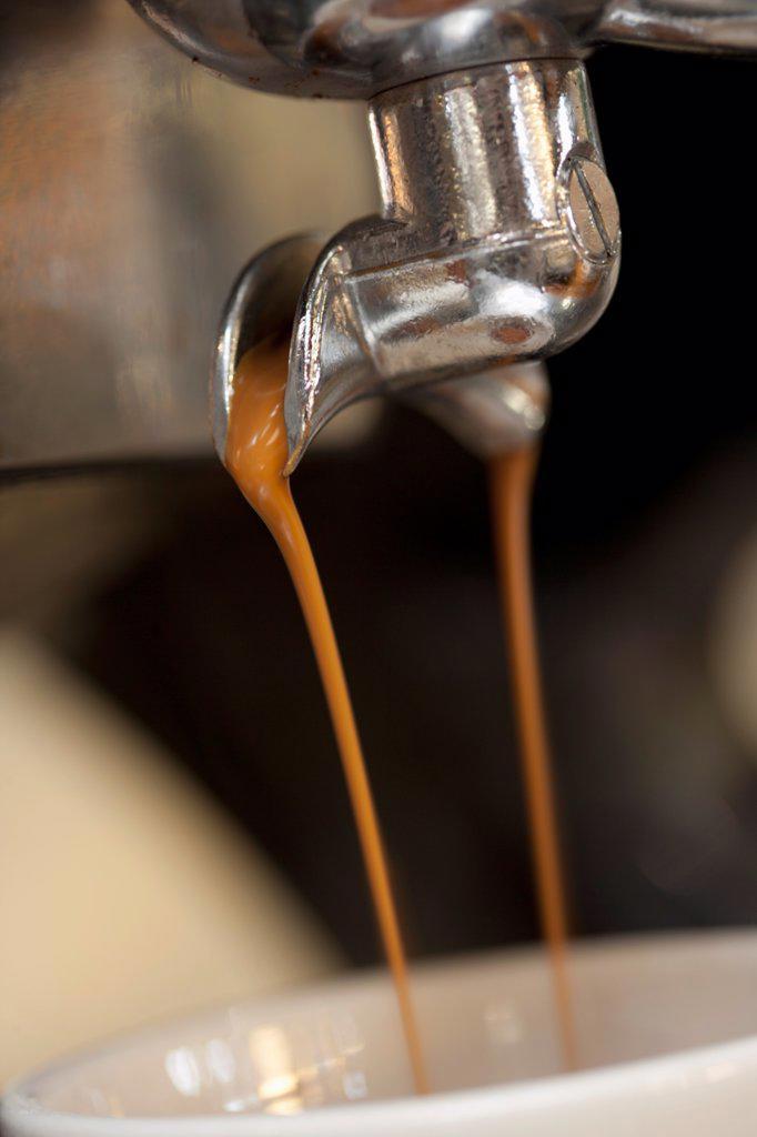 Double espresso shot : Stock Photo