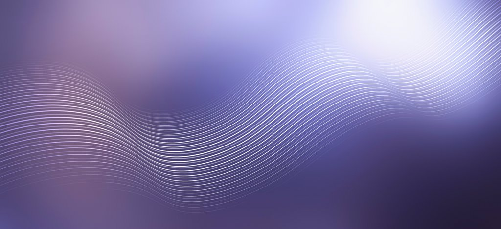 Stock Photo: 1570R-141396 Curved lines against an abstract background