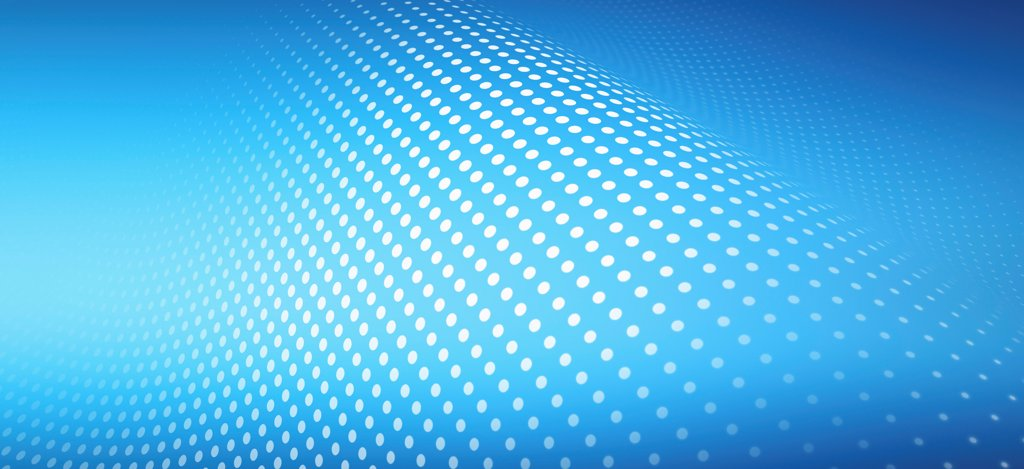 Stock Photo: 1570R-141406 Curved dot pattern against an abstract background