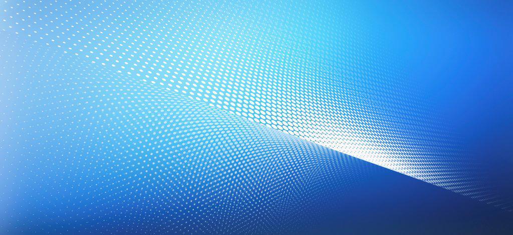 Curved dot pattern : Stock Photo