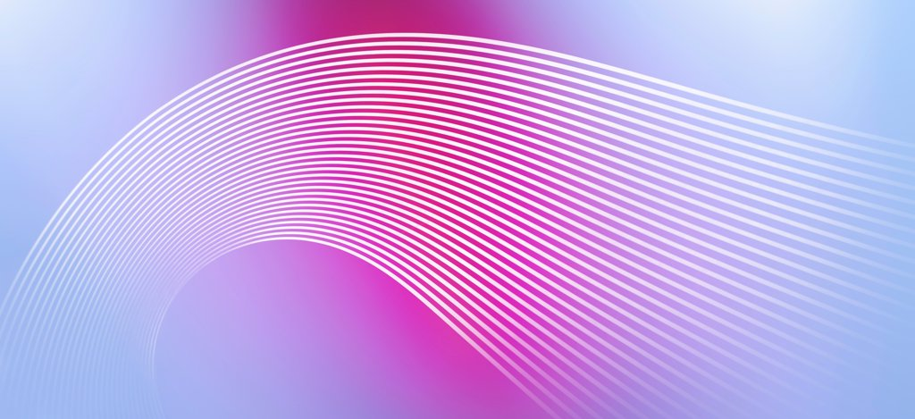 Curved lines against an abstract background : Stock Photo