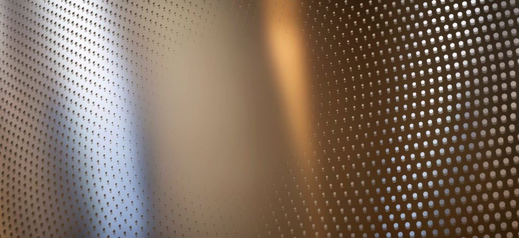 Stock Photo: 1570R-141447 Round dot pattern against an abstract background