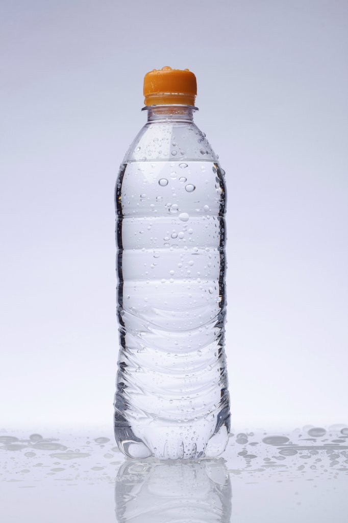 Stock Photo: 1570R-141539 A full plastic water bottle