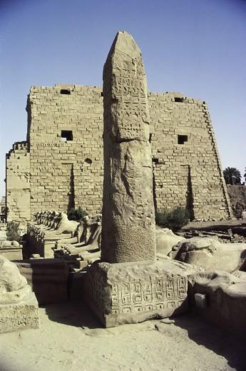 Stock Photo: 1574R-010472 Karnak Egypt