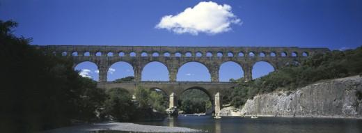 Pont du Gard France    : Stock Photo