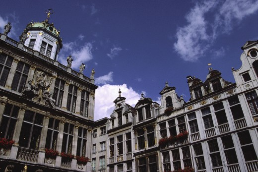 Grand Place Brussels Belgium : Stock Photo