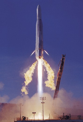 Atlas-F Rocket