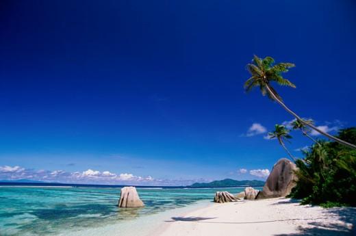 Anse Source d'Argent La Digue Seychelles : Stock Photo