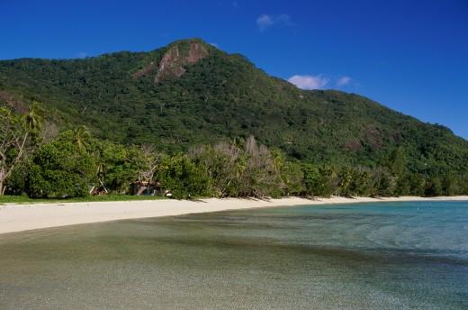 Stock Photo: 1574R-015307 Anse La Passe Silhouette Island Seychelles
