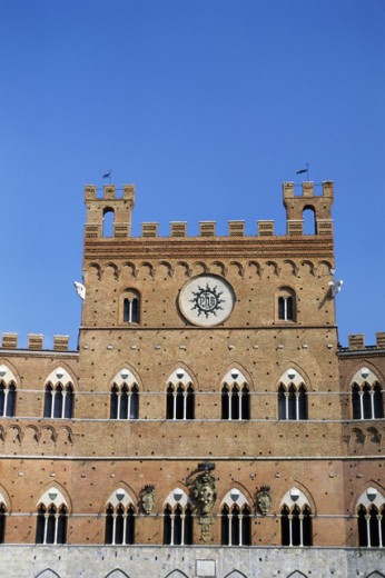 Stock Photo: 1574R-015768 Piazza del Campo