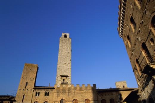 Stock Photo: 1574R-015774 San Gimignano Italy