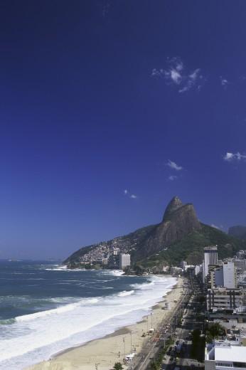 Ipanema Beach Rio de Janeiro Brazil : Stock Photo