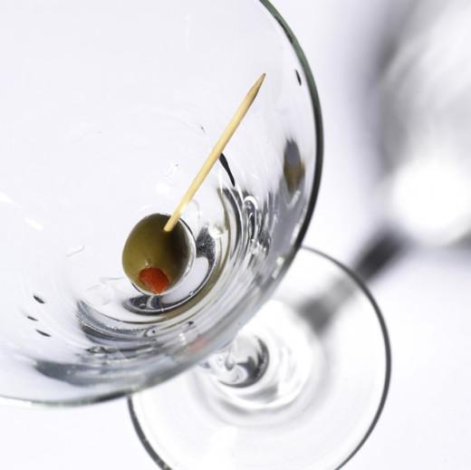 Stock Photo: 1574R-015875 Martini