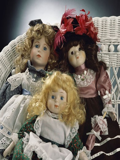 Close-up of dolls : Stock Photo